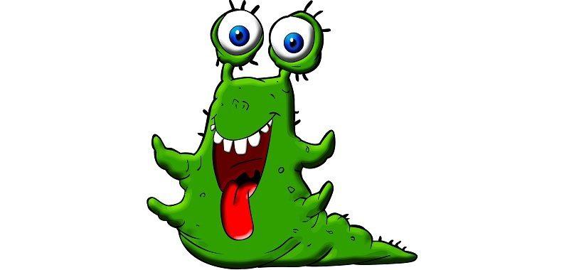 פחדים וחרדות, מפלצת ירוקה מוציאה לשון