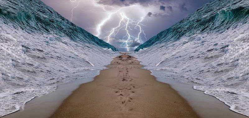 התעוררות רוחנית, תמונת יציאת מצריים כאשר הים נחצה לשניים