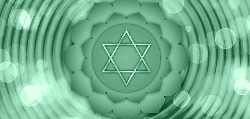 ריפוי תת מודע, סמל מגן דוד על רקע ירקרק